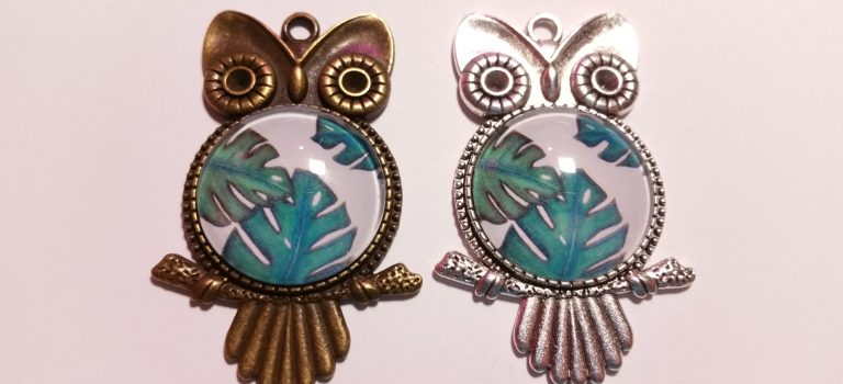 Printed designs for cabochons